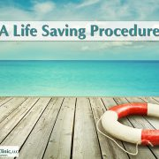 a life saving procedure
